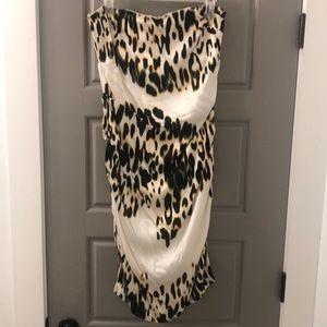 Akira leopard print dress